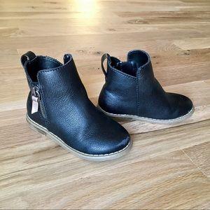 BabyGap Black Moto Boots
